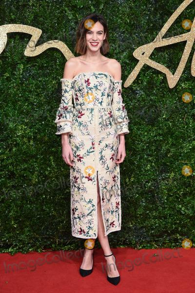 Alexa Chung Photo - Alexa Chung at the British Fashion Awards 2015 at the Coliseum Theatre LondonNovember 23 2015  London UKPicture Steve Vas  Featureflash