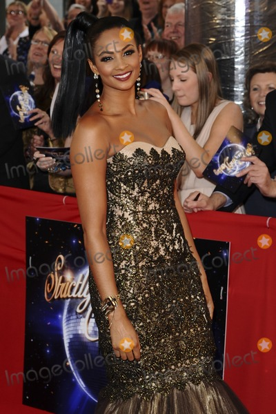 Aleesha Dixon Photo - Aleesha Dixon arriving for the Stictly Come Dancing 2011 launch at BBC TV Centre London 07092011 Picture by Steve Vas  Featureflash