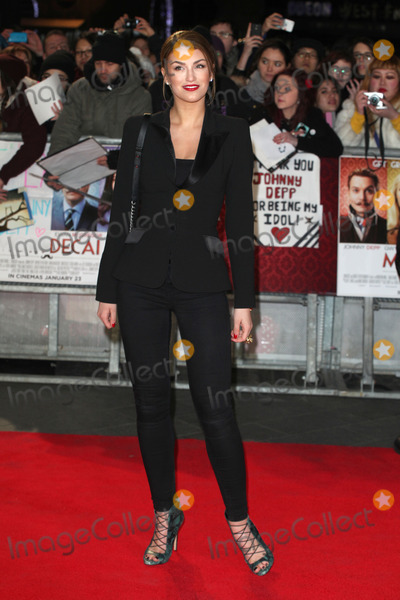 Amy Willerton Photo - Amy Willerton arriving at the UK film premiere of  Mortdecai at Empire Leicester Square London 19012015 Picture by Alexandra Glen  Featureflash