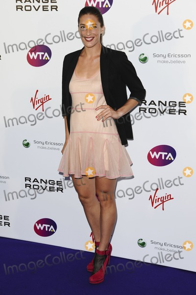 Andrea Petkovic Photo - Andrea Petkovic arriving for the Pre Wimbledon Party Kensington Roof Gardens London 16072011  Picture by Steve Vas  Featureflash