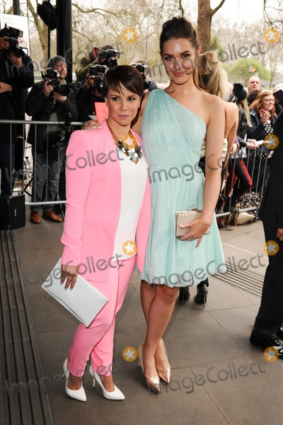 Anna Passey Photo - Jessica Fox and Anna Passey arrives for the TRIC Awards 2014 at the Grosvenor House Hotel Mayfair  London 11032014 Picture by Steve Vas  Featureflash