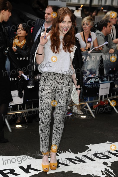 Angela Scanlan Photo - Angela Scanlan arriving for European premiere of The Dark Knight Rises at the Odeon Leicester Square London 18072012 Picture by Steve Vas  Featureflash