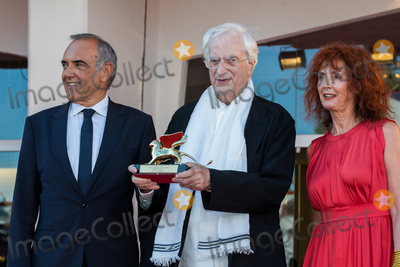 Alberto Barbera Photo - Actress Sabine Azema French director Bertrand Tavernier Venice Film Festival director Alberto Barbera at a special screening of Taverniers 1989 movie Life And Nothing But (La vie et rein dautra) He was awarded with the Golden Lion For Lifetime Achievement 2015 at a ceremony at the 2015 Venice Film FestivalSeptember 8 2015  Venice ItalyPicture Kristina Afanasyeva  Featureflash