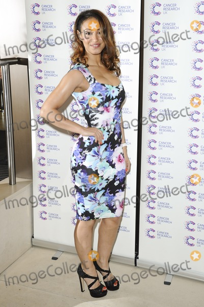 Amelle Berrabah Photo - Amelle Berrabah arriving at James Jog On To Cancer Event Kensington Roof Gardens London 09042014 Picture by Alexandra Glen  Featureflash