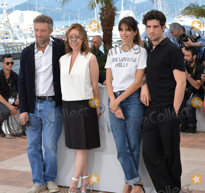 Vincent Cassel Photo - Vincent Cassel Emmanuelle Bercot Louis Garrel  director Maiwenn at the photocall for their movie My King (Mon Roi) at the 68th Festival de CannesMay 17 2015  Cannes FrancePicture Paul Smith  Featureflash