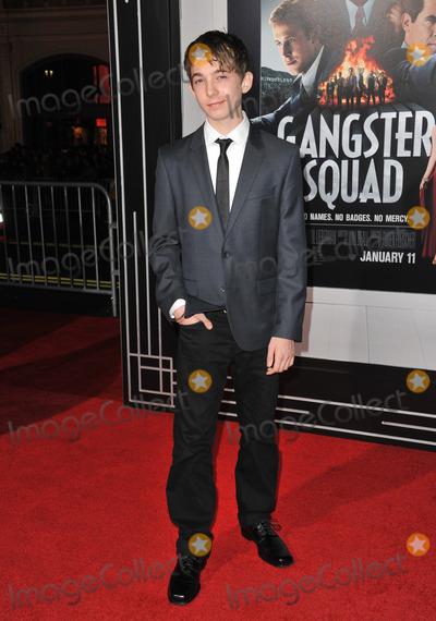 Austin Abrams Photo - Austin Abrams at the world premiere of his movie Gangster Squad at Graumans Chinese Theatre HollywoodJanuary 7 2013  Los Angeles CAPicture Paul Smith  Featureflash
