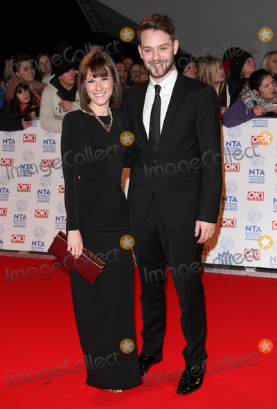 John Whaite Photo - Cat Dresser and John Whaite arriving for the National Television Awards 2013 at the O2 Arena London 23012013 Picture by Alexandra Glen  Featureflash