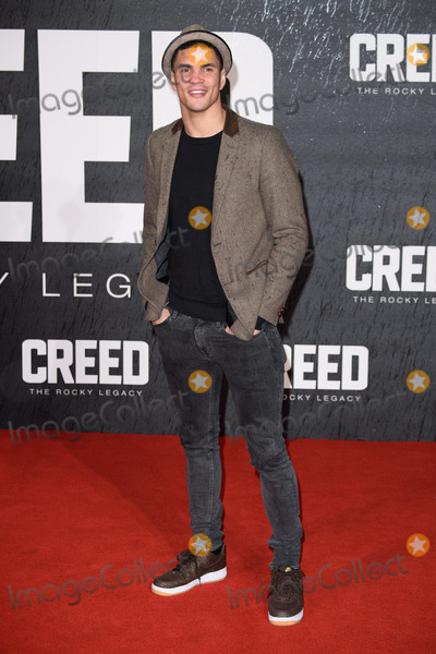 Anthony Ogogo Photo - Anthony Ogogo at the UK premiere of Creed The Rocky Legacy at the Empire Leicester Square London January 12 2016  London UKPicture Steve Vas  Featureflash