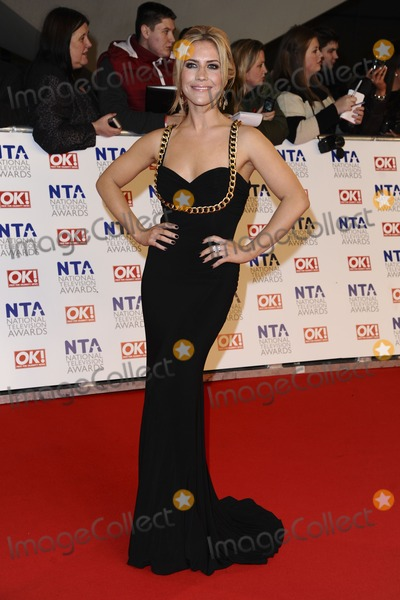 Heidi Range Photo - Heidi Range arriving for the National Television Awards O2 London 25012012 Picture by Steve Vas  Featureflash