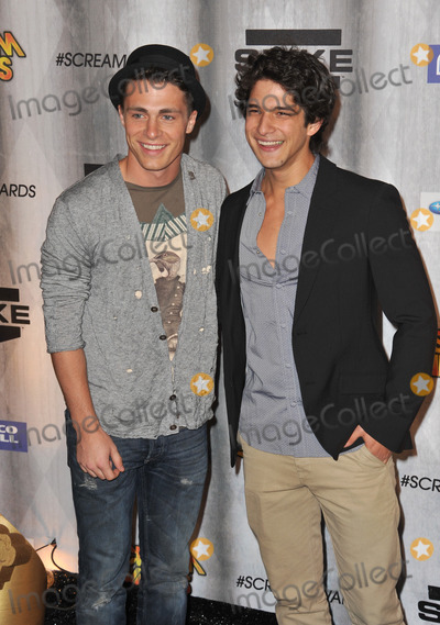 Tyler Posey Photo - Colton Haynes  Tyler Posey (right) at the 2011 Spike TV Scream Awards at Universal Studios HollywoodOctober 15 2011  Los Angeles CAPicture Paul Smith  Featureflash