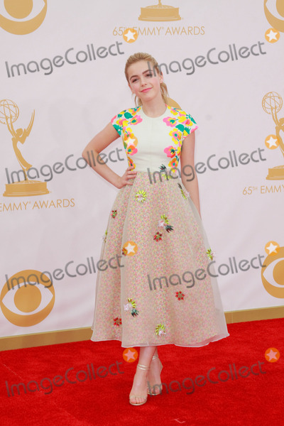 Kiernan Shipka Photo - Kiernan Shipka at the 65th Primetime Emmy Awards at the Nokia Theatre LA LiveSeptember 22 2013  Los Angeles CAPicture Featureflash