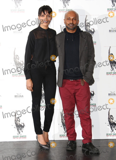 Akram Khan Photo - Freida Pinto and Akram Khan at the Desert Dancer photocall held at Sadlers WellsLondon 09102012 Picture by Henry Harris  Featureflash