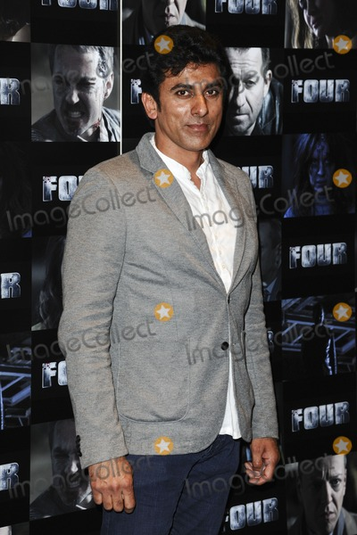 Ace Bhatti Photo - Ace Bhatti arriving for the Four premiere at the Empire Leicester Square London 10102011 Picture by Steve Vas  Featureflash