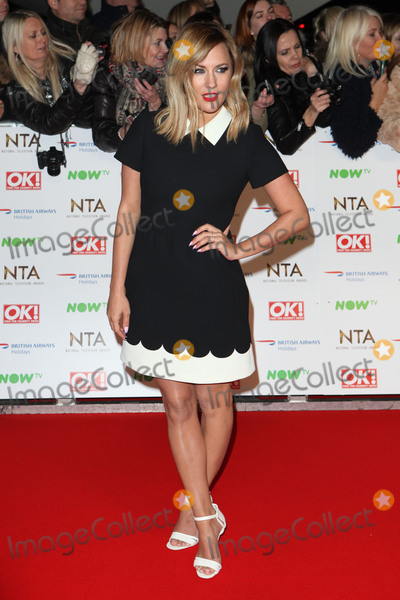 Ashleigh Defty Photo - Caroline Flack attending the National Television Awards 2016 The O2 London on 20012016 Picture by Kat Manders  Featureflash