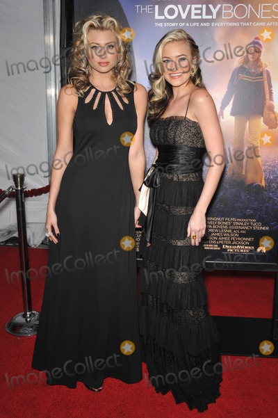 Amanda AJ Michalka Photo - Aly Michalka (left)  Amanda AJ Michalka at the Los Angeles premiere of The Lovely Bones at Graumans Chinese Theatre HollywoodDecember 7 2009  Los Angeles CAPicture Paul Smith  Featureflash