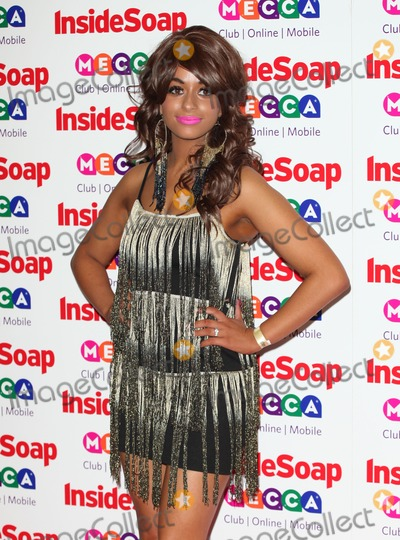 Adiza Shardow Photo - Adiza Shardow arriving for the 2013 Inside Soap Awards at the Ministry Of Sound London 21102013 Picture by Alexandra Glen  Featureflash