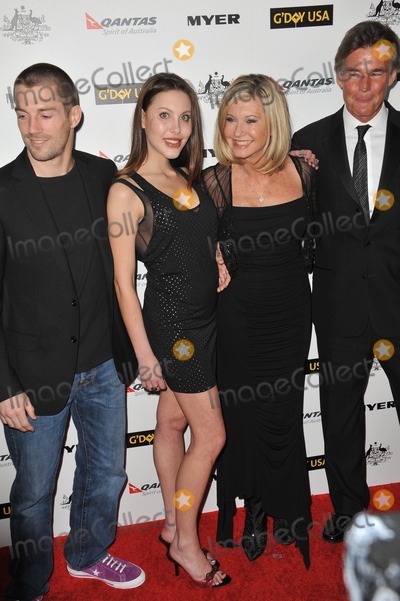 James Driscoll Photo - Chloe Lattanzi  fianc James Driscoll (left) with her mother Olivia Newton-John  husband John Easterling at the 2011 GDay USA Black Tie Gala at the Hollywood PalladiumJanuary 22 2011  Los Angeles CAPicture Paul Smith  Featureflash