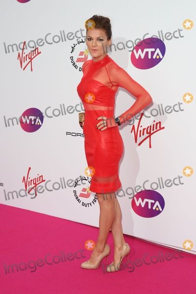 Agnieszka Radwanska Photo - Agnieszka Radwanska at The WTA Pre-Wimbledon Party 2014 presented by Dubai Duty Free held at The Roof Gardens Kensington - ArrivalsLondon 19062014 Picture by James Smith  Featureflash