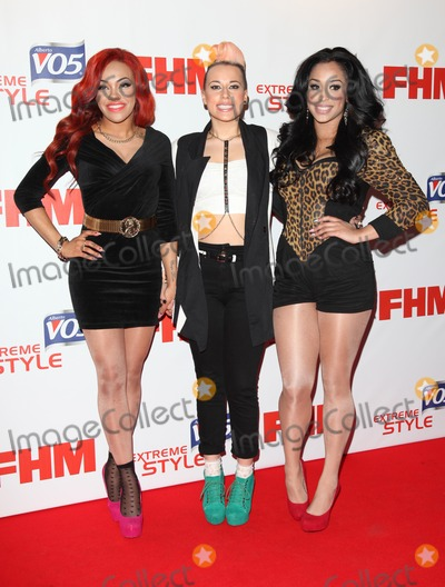 Alexandra Buggs Photo - Karis Anderson Courtney Rumbold and Alexandra Buggs of StooShe arriving at FHM 100 Sexiest Women In The World 2012 - Launch Party Proud Bank London 01052012 Picture by Alexandra Glen  Featureflash