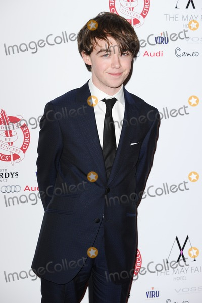 Alex Lawther Photo - Alex Lawther arrives for the London Critics Circle Film Awards 2015 at the Mayfair Hotel London 18012015 Picture by Steve Vas  Featureflash