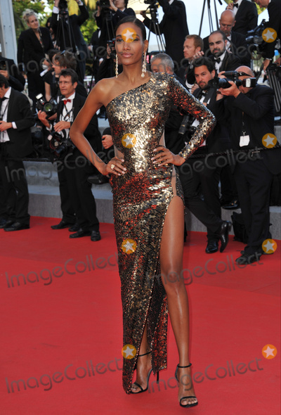 Arlenis Sosa Photo - Domenican model Arlenis Sosa at the gala premiere of Two Days One Night at the 67th Festival de CannesMay 20 2014  Cannes FrancePicture Paul Smith  Featureflash