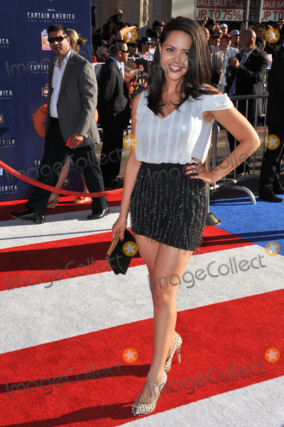 Alyssa Diaz Photo - Alyssa Diaz at the premiere of Captain America The First Avenger at the El Capitan Theatre HollywoodJuly 19 2011  Los Angeles CAPicture Paul Smith  Featureflash