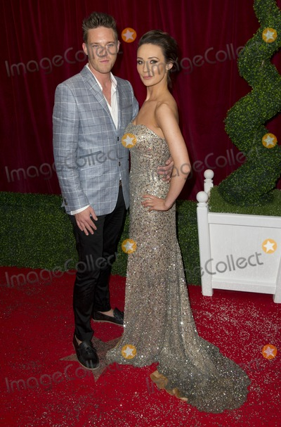 Andrew Moss Photo - Claire Cooper and Andrew Moss arriving for the 2012 British Soap Awards  LWT Southbank London28042012 Picture by Simon Burchell  Featureflash