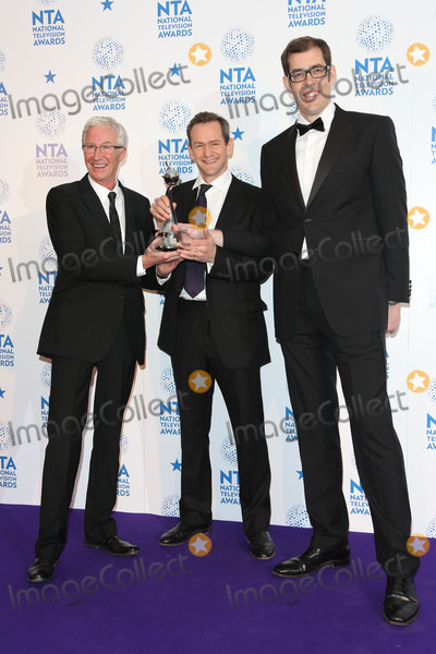 Alexander Armstrong Photo - Paul OGrady Alexander Armstrong and Richard Osman in the winners room at The National Television Awards (NTAs) 2013 held at the O2 arena London 23012013 Picture by Henry Harris  Featureflash