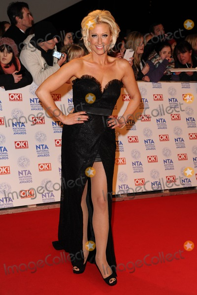 Faye Tozer Photo - Faye Tozer arriving for the National Television Awards 2013 at the O2 Arena London 23012013 Picture by Steve Vas  Featureflash