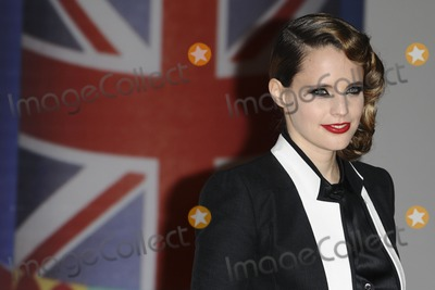 Anna Calvi Photo - Anna Calvi arriving for the Brit Awards 2012 at the O2 arena Greenwich London 21022012 Picture by Steve Vas  Featureflash