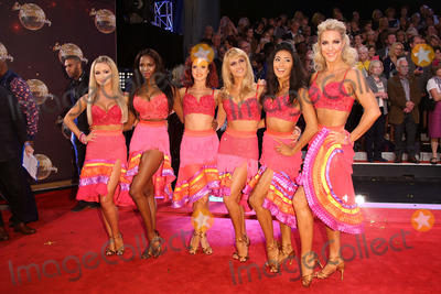 Aliona Vilani Photo - Janette Manrara Ola Jordan Aliona Vilani Otlile Mabuse Kristina Rihanoff Joanne Clifton Karen Hauer and Natalie Lowe at the Strictly Come Dancing 2015 TV series launch at Elstree StudiosBorehamwood Herts September 1 2015  Borehamwood UKPicture James Smith  Featureflash