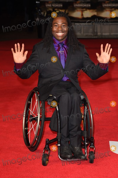 Ade Adepitan Photo - Ade Adepitan arriving for the Unbroken premiere Odeon Leicester Square London 25112014 Picture by Steve Vas  Featureflash