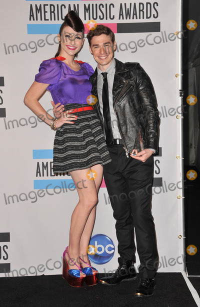 Amy Heidemann Photo - Karmin stars Amy Heidemann  Nick Noonan at the 2011 American Music Awards at the Nokia Theatre LA Live in downtown Los AngelesNovember 20 2011  Los Angeles CAPicture Paul Smith  Featureflash
