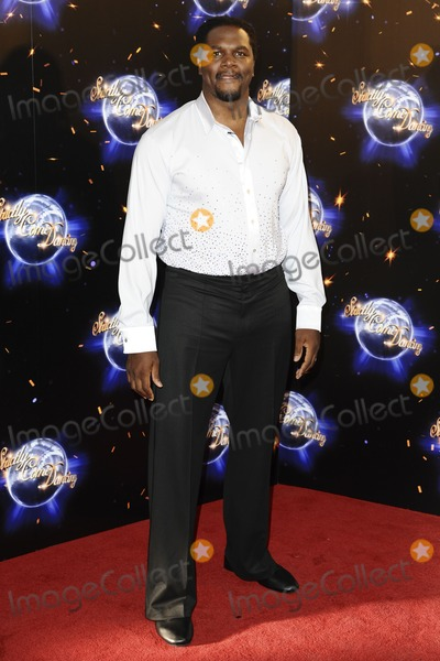 Audley Harrison Photo - Audley Harrison arriving for the Stictly Come Dancing 2011 launch at BBC TV Centre London 07092011 Picture by Steve Vas  Featureflash