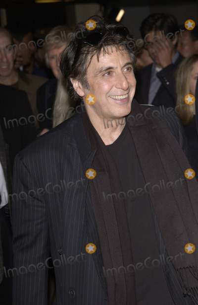 Al Pacino Photo - Actor AL PACINO at the Los Angeles premiere of his new movie The Recruit28JAN2003    Paul Smith  Featureflash