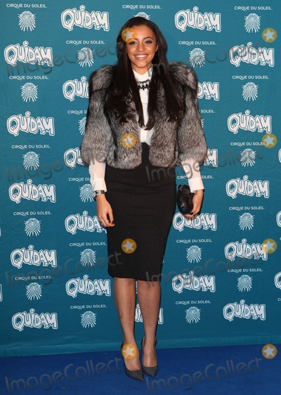 Amal Fashanu Photo - Amal Fashanu arriving for the Cirque du Soleil Quidam Press Night at the Royal Albert Hall London 07012014 Picture by Alexandra Glen  Featureflash