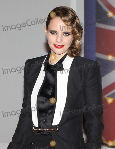 Anna Calvi Photo - Anna Calvi arriving for the 2012 Brit Awards O2 Arena London 21022012 Picture by Simon Burchell  Featureflash