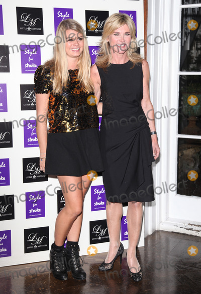 Anthea Turner Photo - Anthea Turner and step daughter Lilly arriving for the Style for Stroke Party 5 Cavendish Square London 02102012 Picture by Alexandra Glen  Featureflash