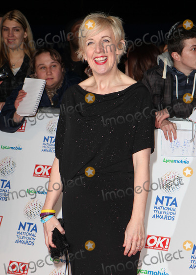Julie Hesmondhalgh Photo - Julie Hesmondhalgh arriving for the National Television Awards 2014 (NTAs) at the O2 London 22012014 Picture by Alexandra Glen  Featureflash