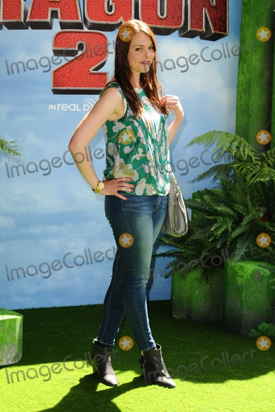 Kate Ford Photo - Kate Ford arrives for the How to Train Your Dragon 2 premiere at the Vue West End Leicester Square London 22062014 Picture by Steve Vas  Featureflash