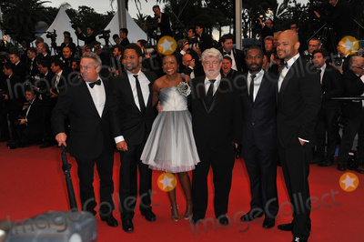 Anthony Hemingway Photo - Anthony Hemingway David Oyelowo George Lucas Mellody Hobson  Cuba Gooding Jr at the gala screening of Cosmopolis in competition at the 65th Festival de CannesMay 25 2012  Cannes FrancePicture Paul Smith  Featureflash
