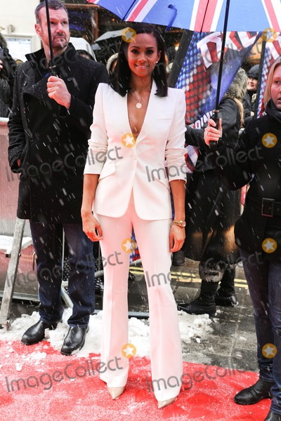Aleesha Dixon Photo - Aleesha Dixon arrives to judge the Britains Got Talent auditions at the Palladium London 20012013 Picture by Steve Vas  Featureflash
