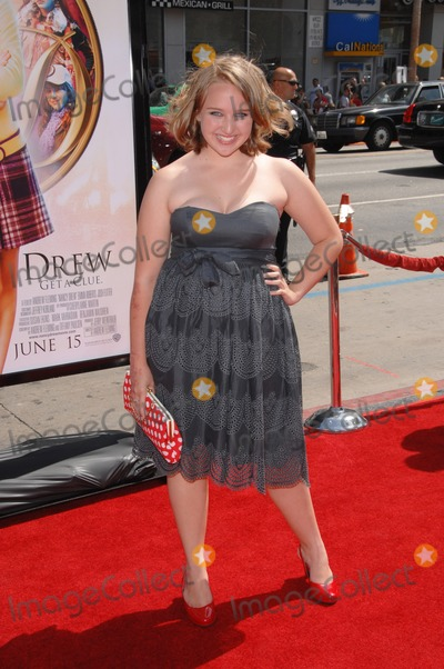Amy Bruckner Photo - Amy Bruckner at the world premiere of Nancy Drew at Graumans Chinese Theatre HollywoodJune 9 2007  Los Angeles CAPicture Paul Smith  Featureflash