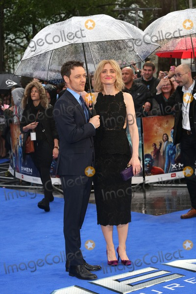 Anne Marie Duff Photo - James McAvoy Anne-Marie Duff at X-Men Days Of Future Past - UK film premiereLondon England 12052014 Picture by Henry Harris  Featureflash