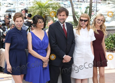 Andrea Arnold Photo - Emmanuelle Devos Hiam Abbass Nanni Moretti Andrea Arnold Diane Kruger at the Cannes Jury photocall - during the 65th Cannes Film Festival Cannes France  16052012 Picture by Henry Harris  Featureflash