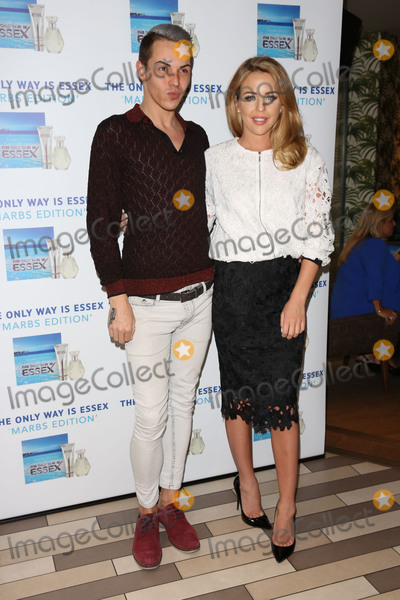 Bobby Norris Photo - Lydia Bright Lydia Rose Bright and Bobby Norris arriving for the TOWIE Fragrance launch The Only Way is Essex stars launch their new perfume The Only Way is Marbs London England 06052015 Picture by James Smith  Featureflash