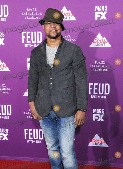 Graumans Chinese Theatre Photo - HOLLYWOOD CA - MARCH 1 Actor Cuba Gooding Jr attends Red Carpet Event for FXs Feud Bette And Joan at Graumans Chinese theatre on March 1 2017 in Hollywood California  (Photo by Barry KingImageCollectcom)
