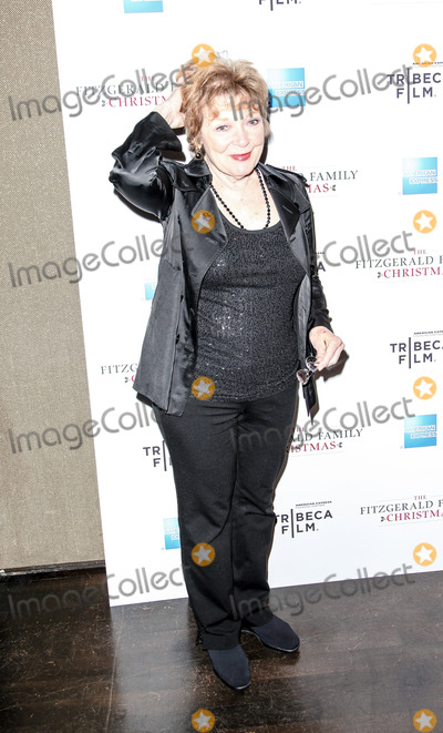 ANITA GILLETTE Photo - Anita Gillette at the Tribeca Films special screening of The Fitzgeralds Family Christmas at the Tribeca Grand Hotel in New York City
