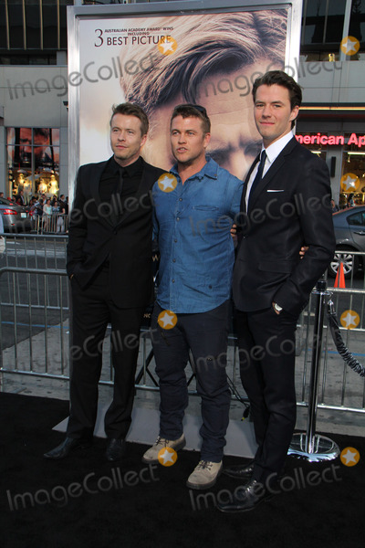 Todd Lasance Photo - Todd Lasance Luke Hemsworth Thomas Cocquerel 04162015 The Premiere of The Water Diviner held at TCL Chinese Theatre in Hollywood CA Photo by Izumi Hasegawa  HollywoodNewsWirenet