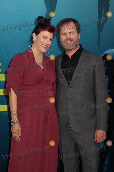 Rainn Wilson Photo - Holiday Reinhorn Rainn Wilson 08062018 The US Premiere of The MEG held at the TCL Chinese Theater in Los Angeles CA Photo by Izumi Hasegawa  HollywoodNewsWireco
